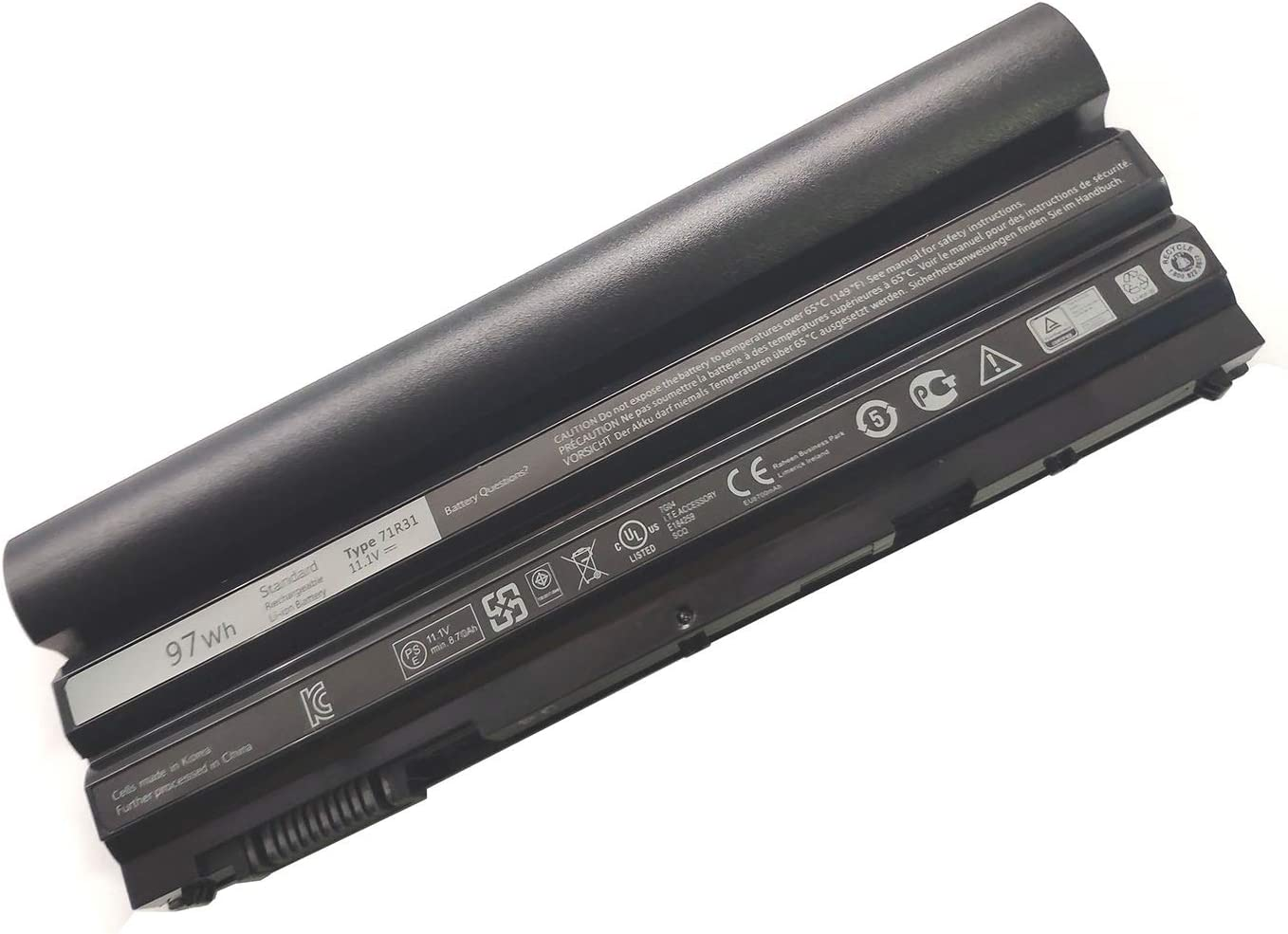 EndlessBattery 71R31 Replacement Laptop Battery Compatible with Dell Latitude E6540 Latitude E6440 462-3678 ATG Precision M2800 Laptop G5M10(97Wh 11.1V 9cell)
