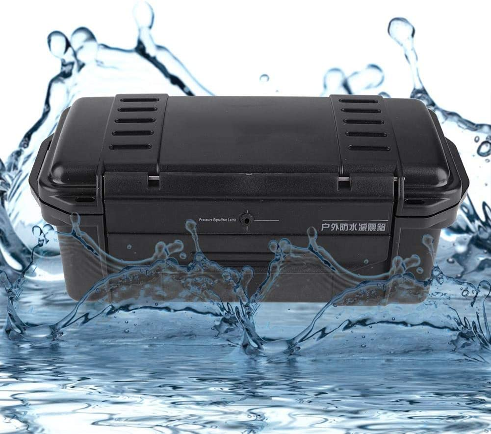 Estuche de almacenamiento a prueba de agua 3 tipos Exterior a prueba de golpes a prueba de polvo a prueba de presi/ón Caja de almacenamiento sellada de supervivencia a prueba de agua para equipos A