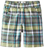 The Children's Place Little Boys' Pull-On Ace Plaid Short