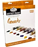 Royal & Langnickel Gouache Color Artist Tube Paint, 12ml, 24-Pack