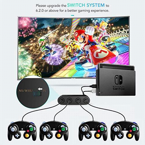 AGPTEK Gamecube Controller Adapter, Super Smash Bros