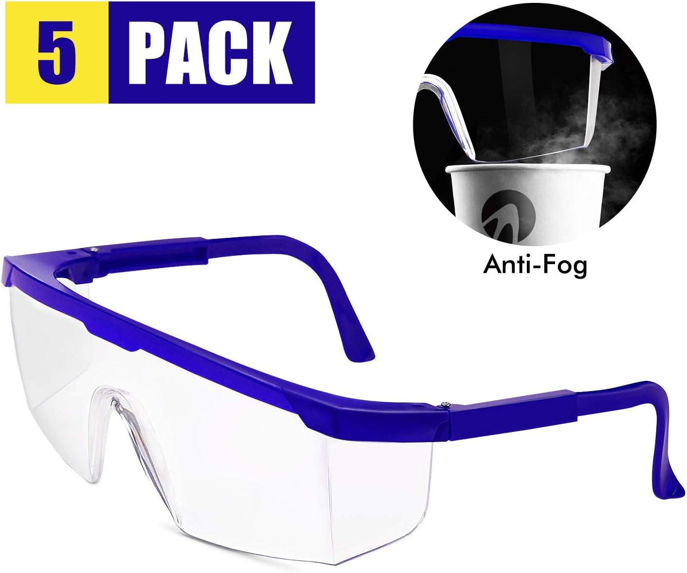 Gafas de protección profesionales de TOPLUS, gafas de protección profesional contra salpicaduras y vómitos, ideales para obras, talleres, jardines y deportes
