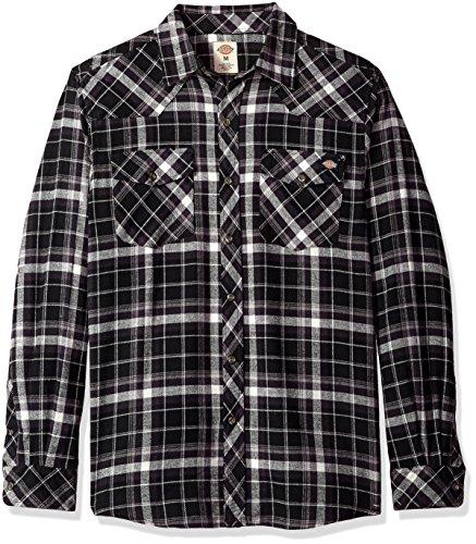 Black Flannel Shirt - 4