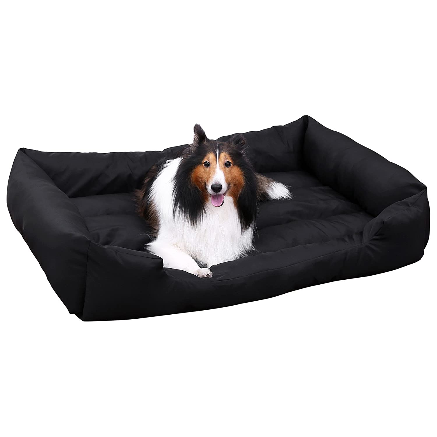 songmics xl panier pour lit chien dog bed coussin matelas animaux ebay. Black Bedroom Furniture Sets. Home Design Ideas