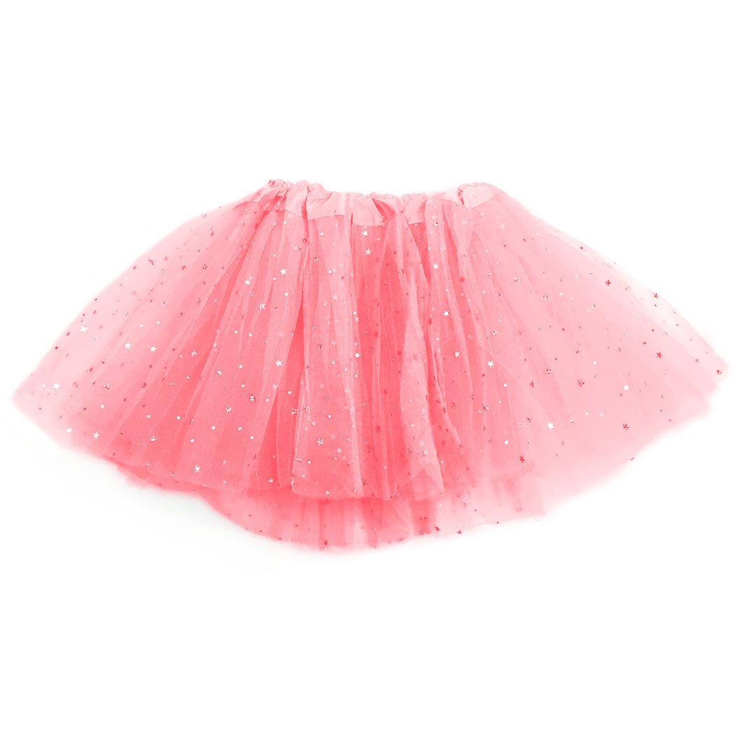 Gone For a Run Runners Premium Tutu Lightweight | One Size Fits Most | Colorful Running Skirts |Pink Sparkle by Gone For a Run