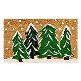 Home & More Winter Wonderland Outdoor Doormat