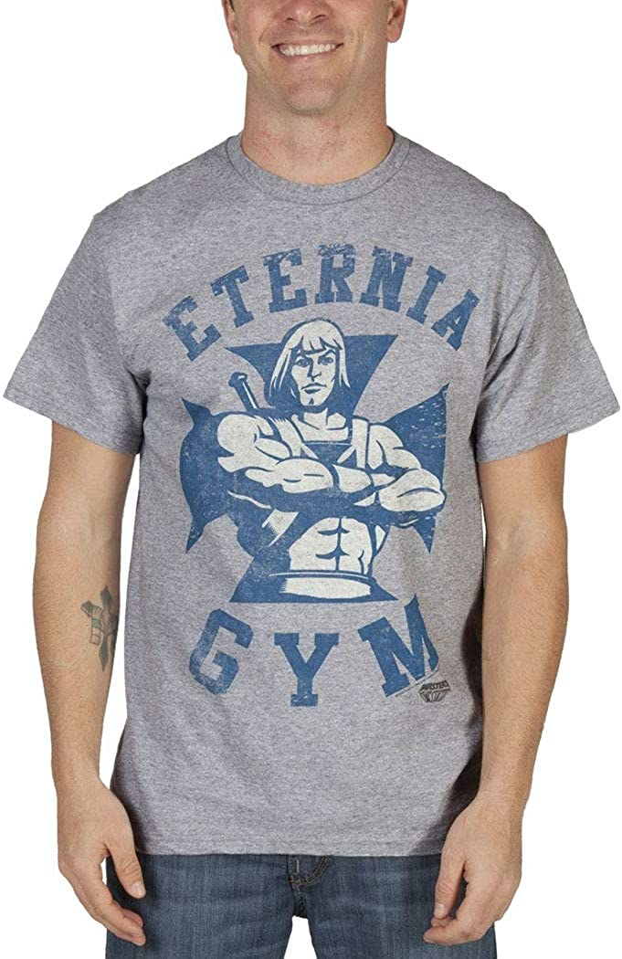 Masters Of The Universe Eternia Gym Adult T-Shirt