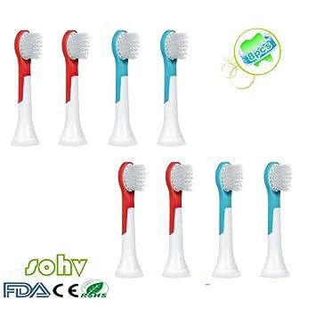 Philips Sonicare Kids Small Repuesto. cepillo de dientes eléctrico completo compatible
