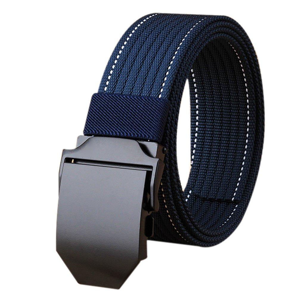 ITIEZY Herren Stoffgürtel, Militär Taktischer Gürtel für Männer Nylon Verstellbarer 3,8 cm Breite 125 CM Länge