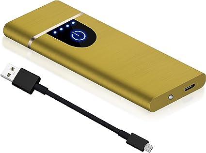 Auratrio Y20 Encendedor Eléctrico, Mechero Recargable USB ...