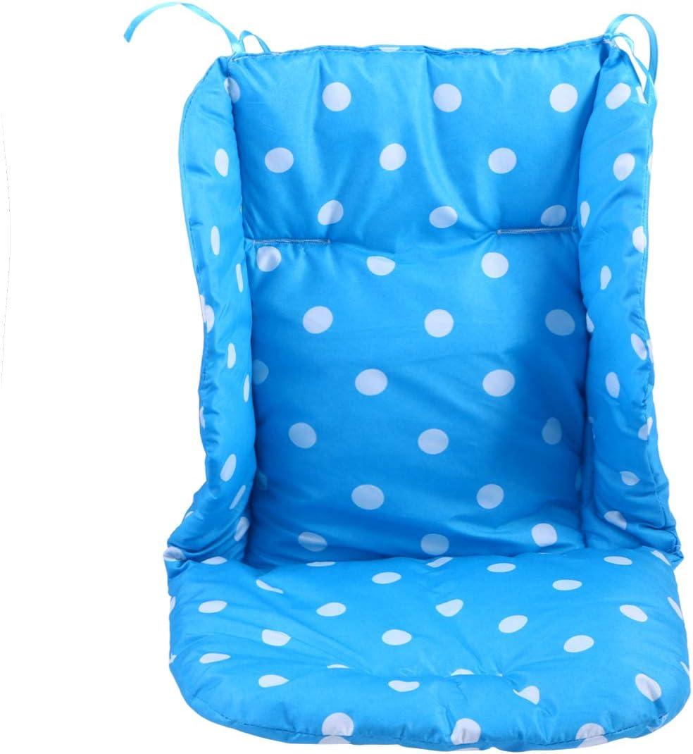 NUOBESTY B/éb/é Poussette Coussin Coussin Respirant Coton Poussette Voiture Chaise Haute Coussin de Si/ège Doublure Housse de Protection pour B/éb/é Enfant Bambin Nourrissons Rose
