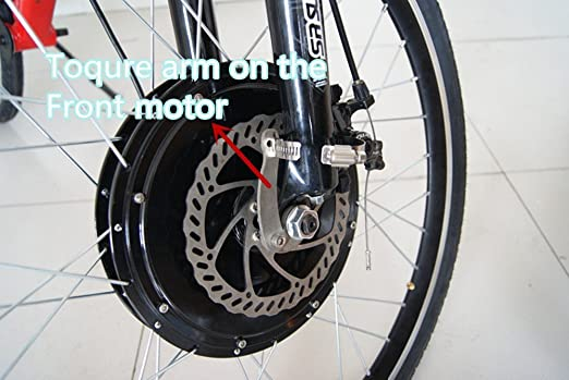 Details about  /High quality E-Bike Electric Bicycle Universal Torque Arm for Front Or Rear NEW