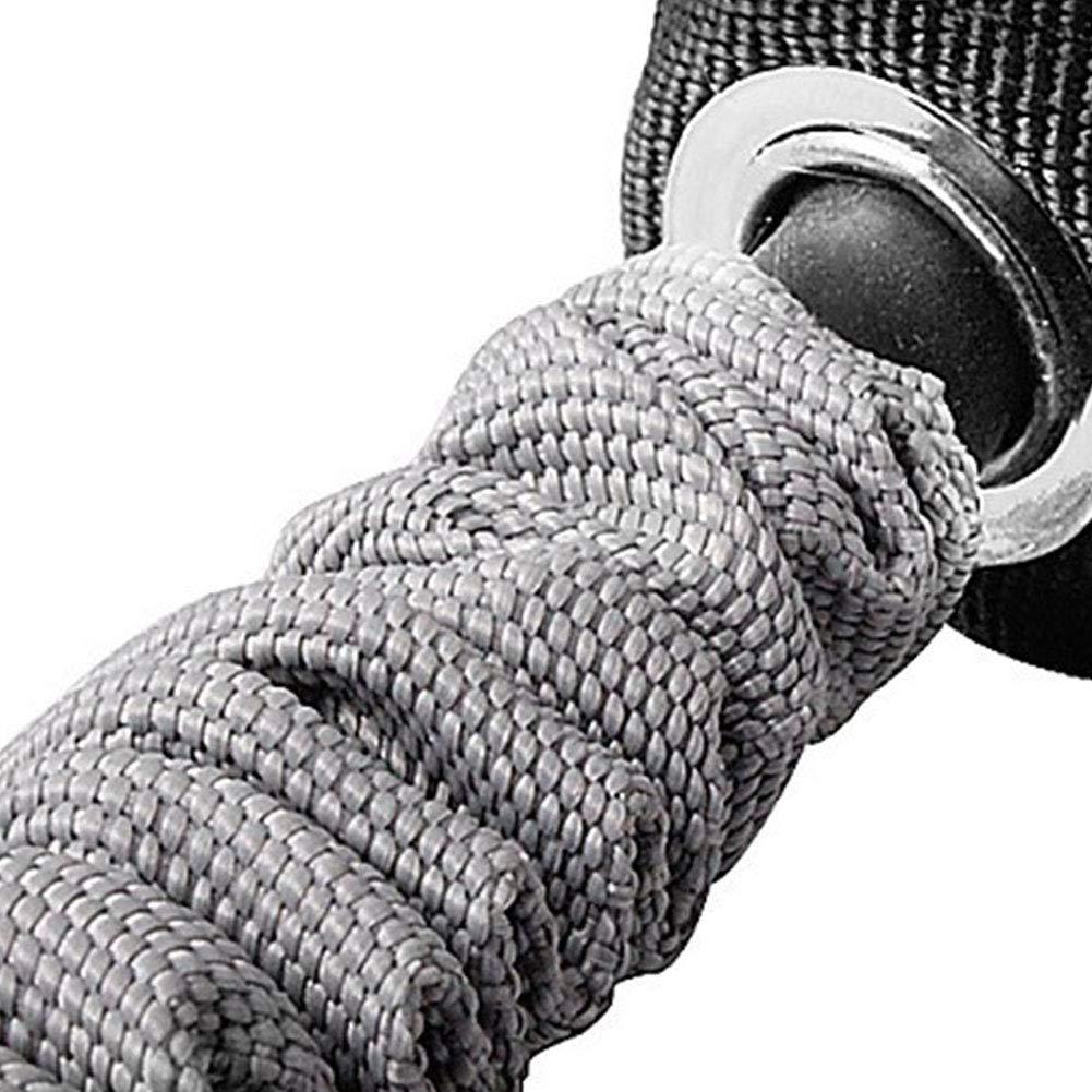 paletur88 Cuerda 1 par Trainer Stretch Rueda Durable Entrenamiento Ejercicio El/ástico Abdominal Adelgazar Crossfit Pull Accesorios Pr/áctico Resistencia Banda Gimnasio Rodillo Fitness Deportes
