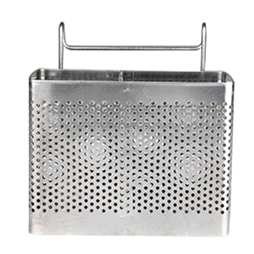 Sundarling Sink Basket, Kitchen Utensils Chopsticks knife and fork Holder Drying Rack Basket (Style 2)