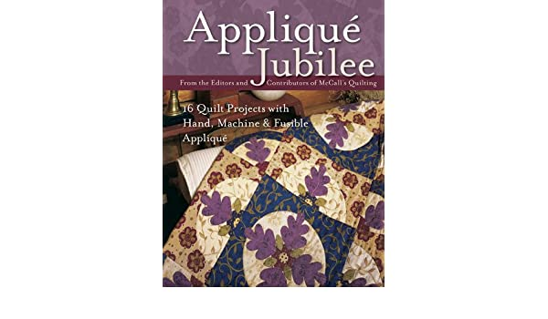 Flower applique block with kate percival justhands on tv