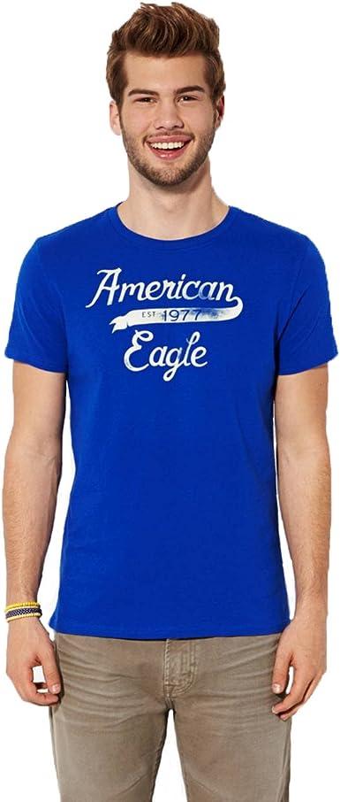 American Eagle Outfitters - Camiseta - para Hombre Azul Color 867 ...