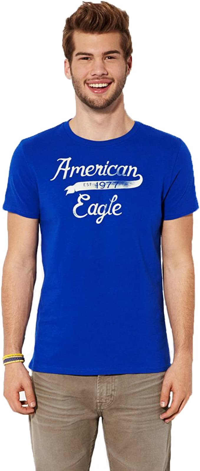 American Eagle Outfitters - Camiseta - para Hombre Azul Color 867 ...
