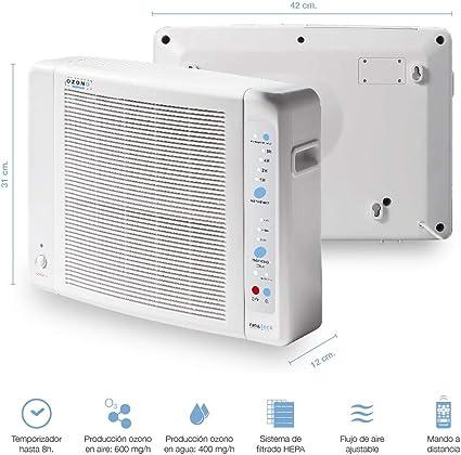 BAYSER - Generador de Ozono Aire y Agua Purificador de Aire