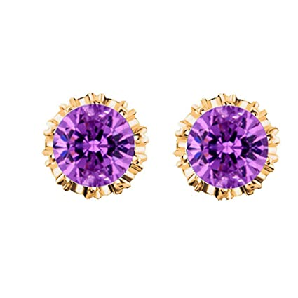 Jewelry & Watches Humorous Silver Set Cubic Zirconia Flower Pendant Stud Earrings Aquamarine Best Price