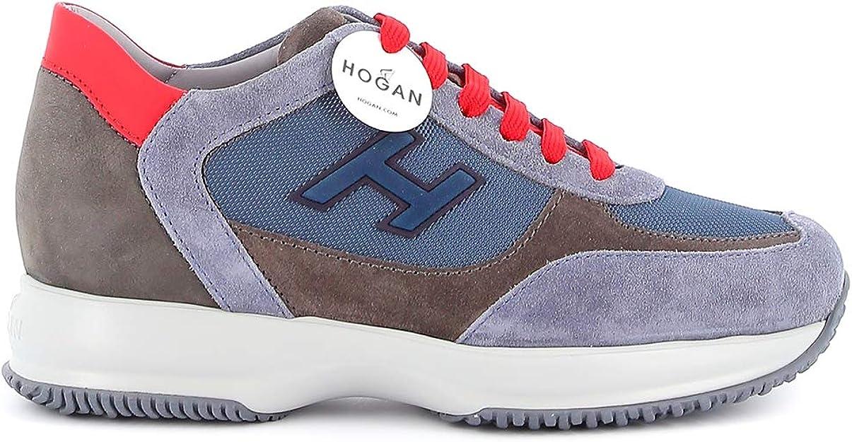 Hogan New Interactive Sneakers, Blu (Scarpette a strappo Voltaic 3 ...