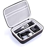 LEADIN Hard Travel Box Cover Bag Case for Philips Norelco Multigroom Series 3000/5000/7000 MG3750 MG5750/49 MG7750/49