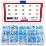 Hilitchi 150-Pcs [1KV / 100pF to 10000pF] High Voltage Dip Ceramic Capacitor Assortment Kit - 15 Value