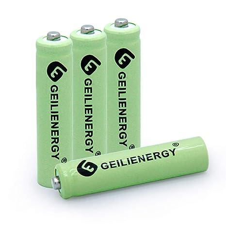 Amazon.com: BAOBIAN AAA 600mAh 1.2V NiMH Baterías Solares ...