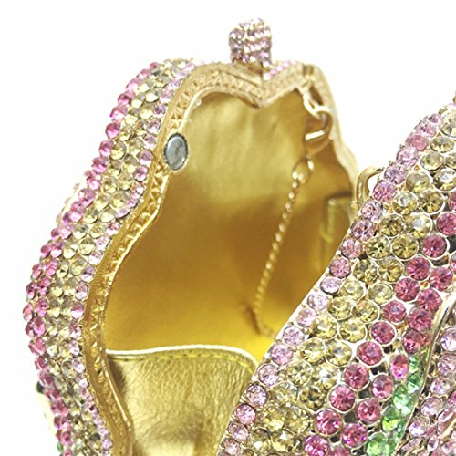 MOGOR, Poschette giorno donna rosa Pink medium