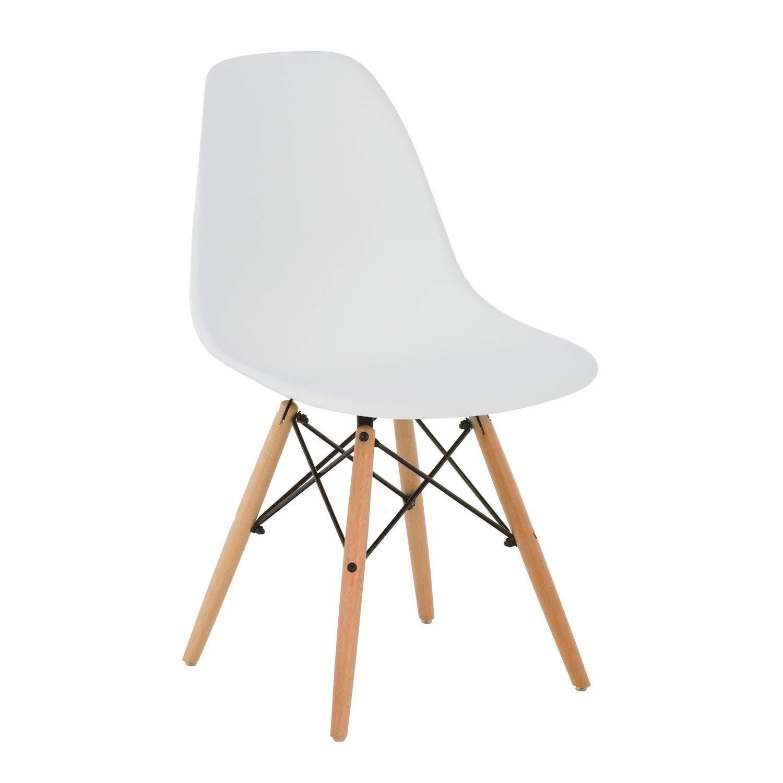 SKLUM Silla IMS Blanco Madera Natural - (Elige Color) product image