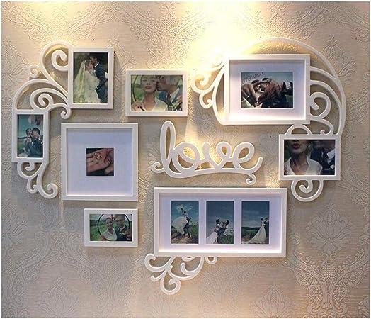 FTING Cadre Photo Mariage Romantique Suspendu décoration ...