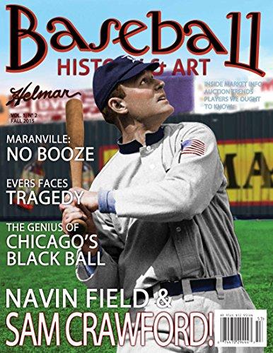 Baseball History & Art Magazine with Christy Mathewson Art Card (Winter, 2015) Signed by Artist