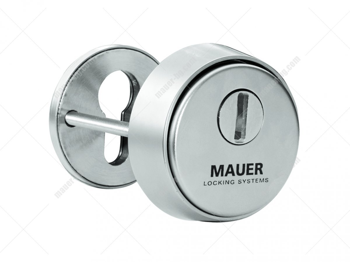 MAUER PROTECTION 915.123 CYLINDER DEFFENDERS (Nickel)