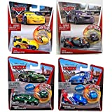 Windhaven Cars Micro Drifters/Diecast Promotional Set of Four - Nigel Gearsley, Raoul Caroule, Jeff Gorvette, Max Schnell