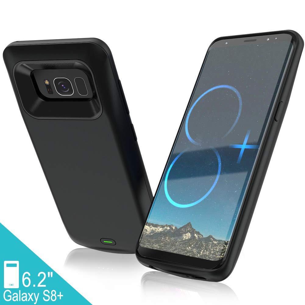Funda Con Bateria de 5500mah para Samsung Galaxy S8 Plus ELEBASE [72L59XLD]