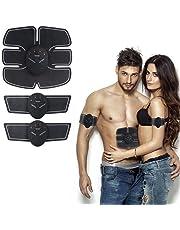 Soondar Muscle Toner ABS Stimulator Portable Muscle Trainer with Rhythm & Soft Impulse, EMS Muscle Exerciser for Women and Men Unisex Fitness Fat Burner for Abdomen/Arm/Leg