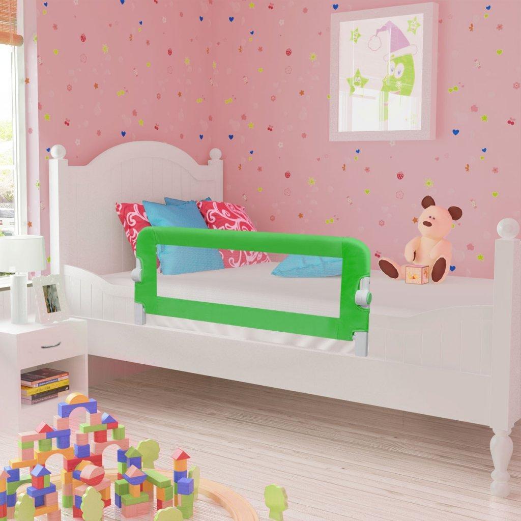vidaXL Kinder Bettschutzgitter Bettgitter Kinderzimmer Fallschutz Baby 102cm
