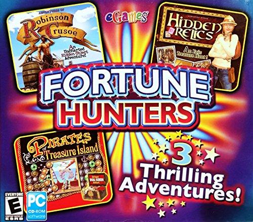 Fortune Hunters: Robinson Crusoe, Pirates of Treasure Island & Hidden - Treasure Pirate Hunter