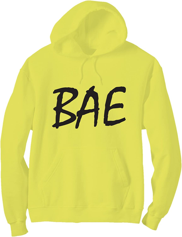 6 Bright Colors zerogravitee Bae Bright Neon Adult Pullover Hoodie