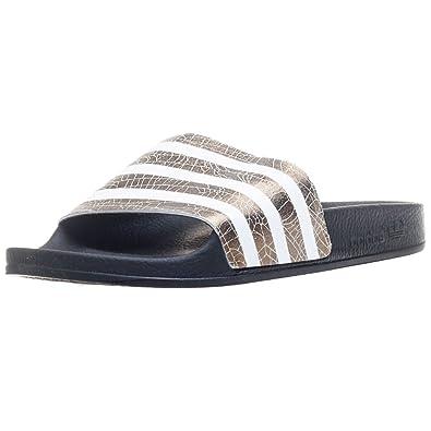 84217a654b0c5 Adidas Adilette Femme Sandales Multicolore: Amazon.fr: Chaussures et ...