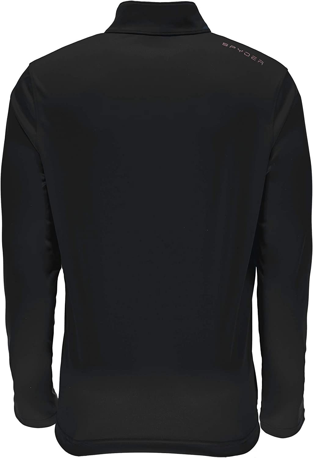Spyder Men/'s T-neck Shirt 1//4 Zip Dryweb Pullover Long Sleeve Various Colors