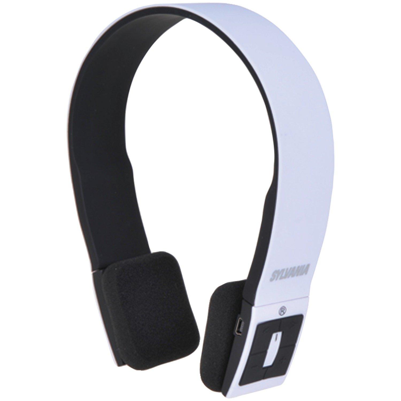 amazon com sylvania wireless bluetooth stereo over ear headphones rh amazon com  sylvania wireless headphones user manual