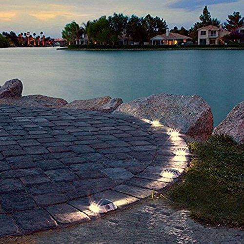 Ecocity Solar Lights Led Deck Driveway Light Dock Path