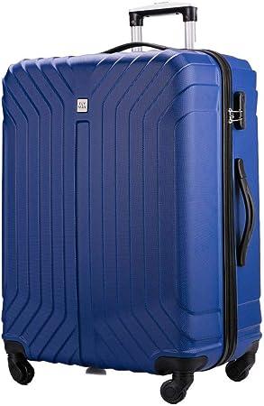 Valise Bleu bleu marine 24 Medium FLYMAX