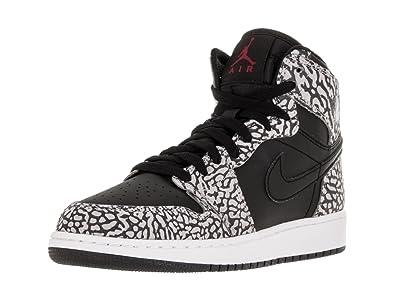 Nike Boys  Air Jordan 1 Retro Hi Prem Bg Basketball Shoes  Amazon.co.uk   Shoes   Bags 081d77bfd6262