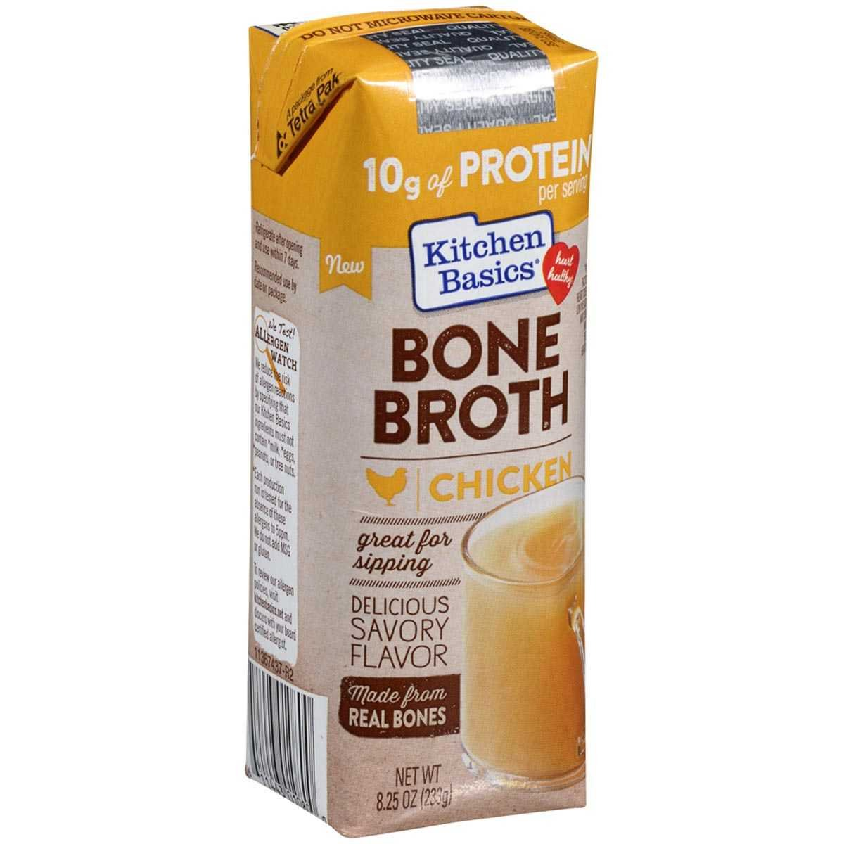 BONE BROTH,CHICKEN - Pack of 12 by KITCHEN BASICS,INC