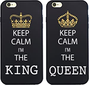 Shark King and Queen Matching Couple Cases for (King:iPhone 7)