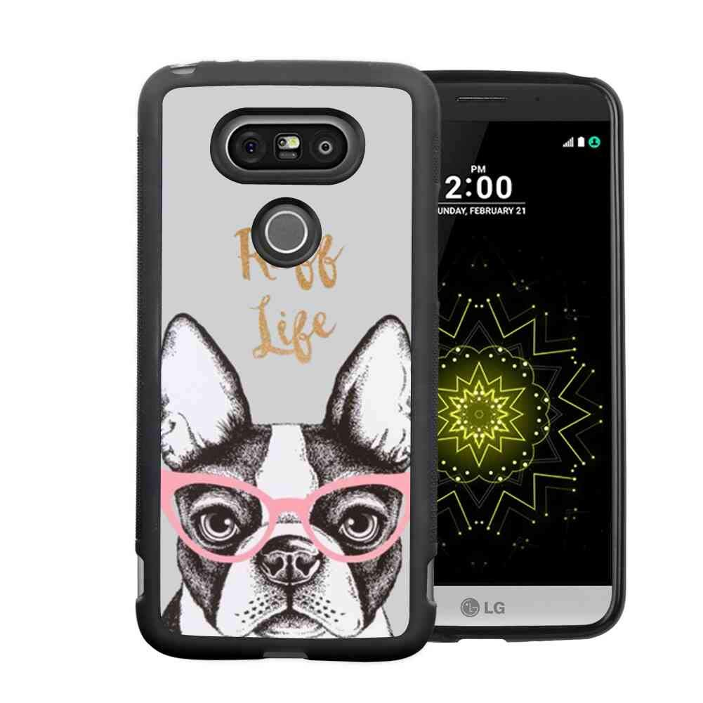 Boston Terrier Cell Phone Case Fit LG G5 5.3""