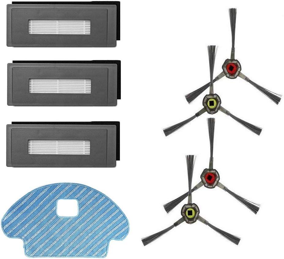 Amoy Kit de Accesorios Reemplazo Compatible con Ecovacs Deebot ...