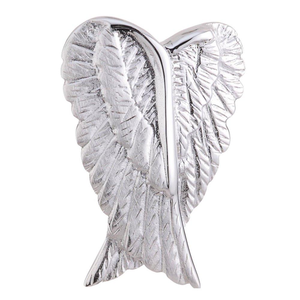 Vinani Anhä nger Engelsflü gel mattiert glä nzend Sterling Silber 925 AEM-EZ