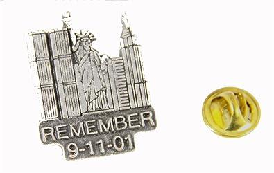 6030508 Remember 9 11 01 Lapel Pin September 11 Sept 11 World Trade Center